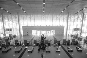 长沙火车南站东广场开通,设社会车辆快速接客区!